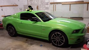 Custom Trunk Build and Window Tint Overhaul for 2014 Mustang