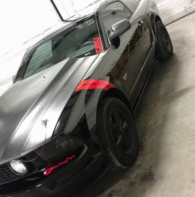2006 Mustang Custom Trunk