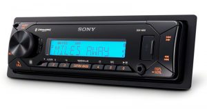 Designed for marine and powersports applications, the Sony DSX-M80 Bluetooth Receiver is ready to make your playtime sound amazing.